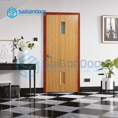 Cửa nhựa thiết kế hiện đại cao cấp SYB.356-B06