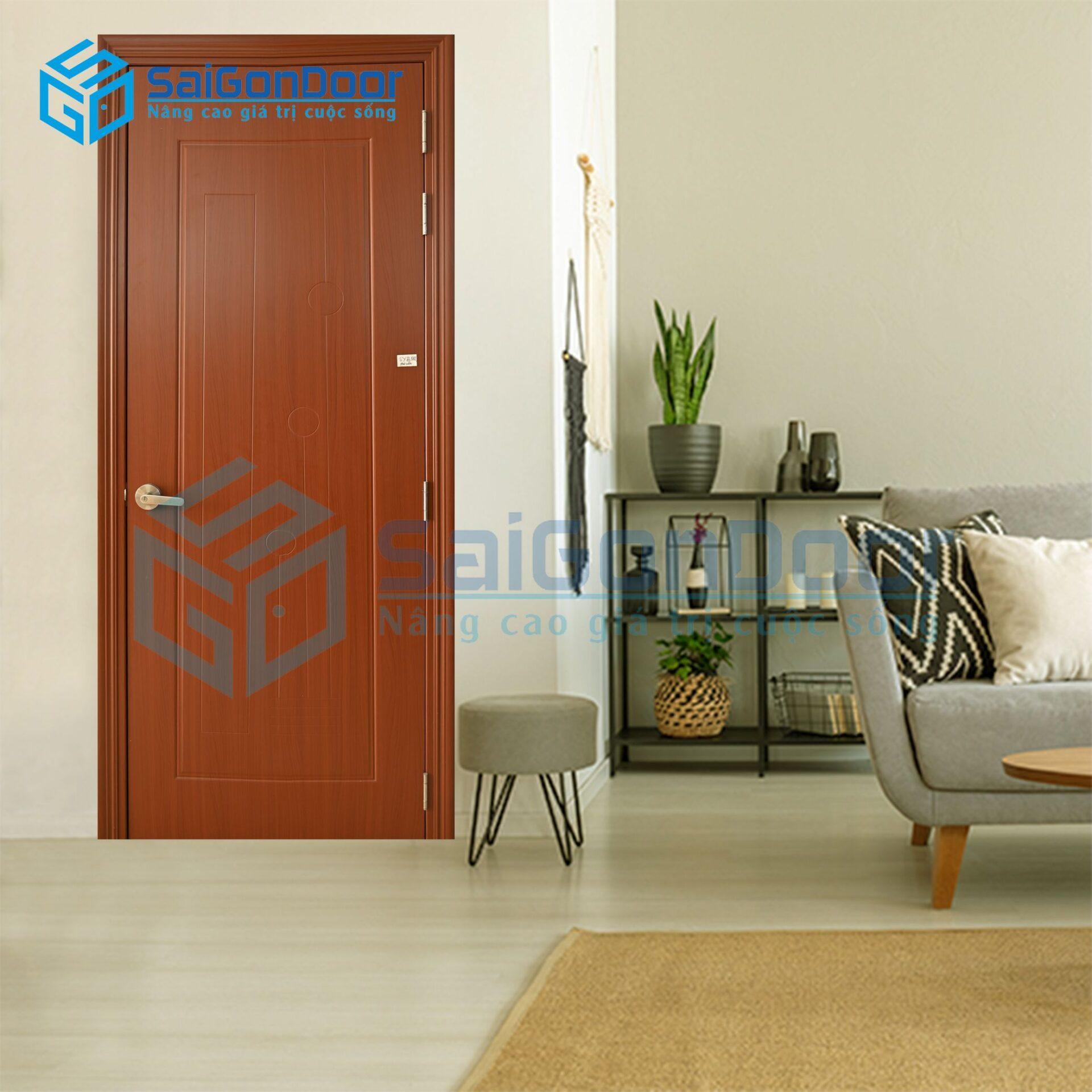 Cửa nhà vệ sinh chống nước và cách âm SYB.551-B07