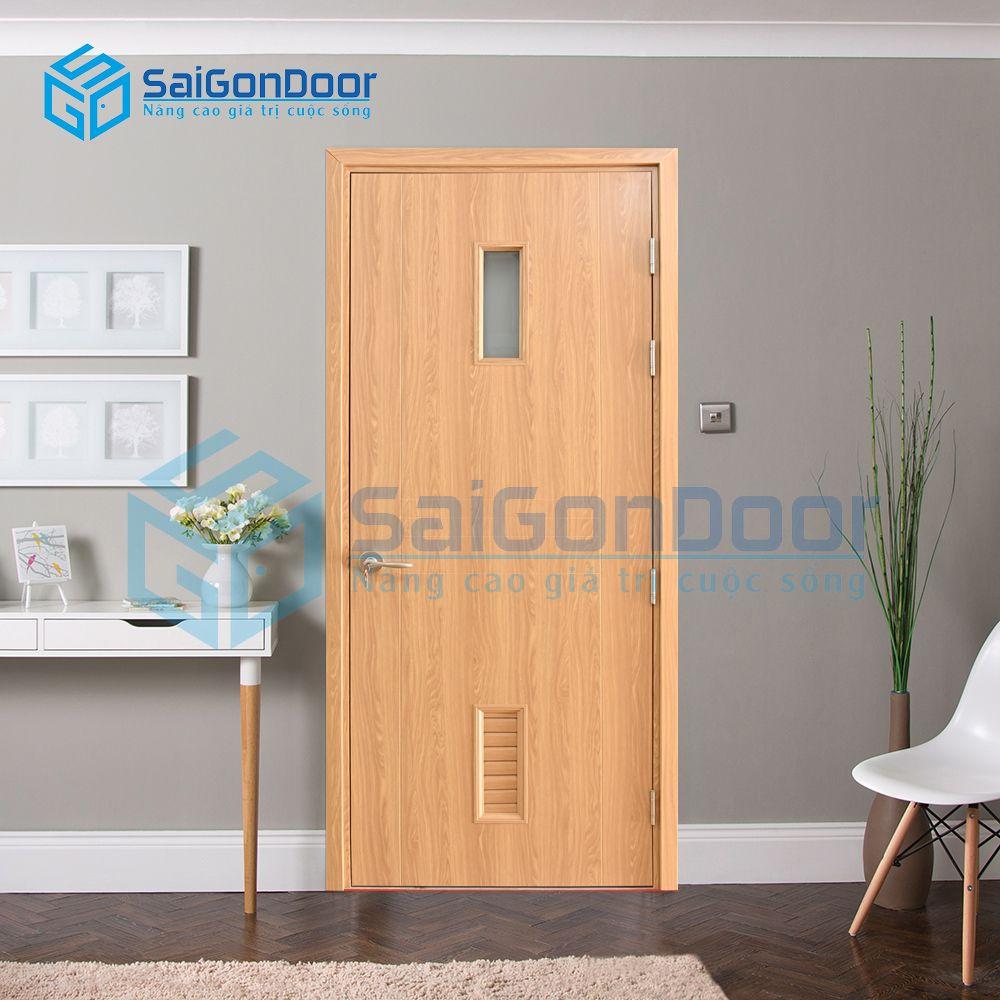 Cửa nhựa gỗ phòng khách Composite SYB.656-B06