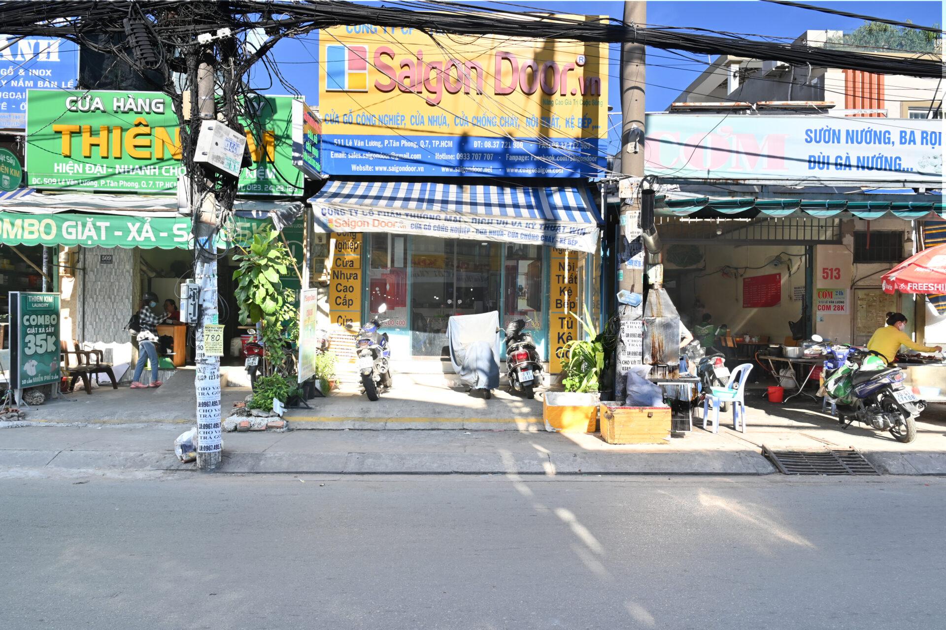 Saigon Door - nơi cung cấp cửa nhựa Composite uy tín