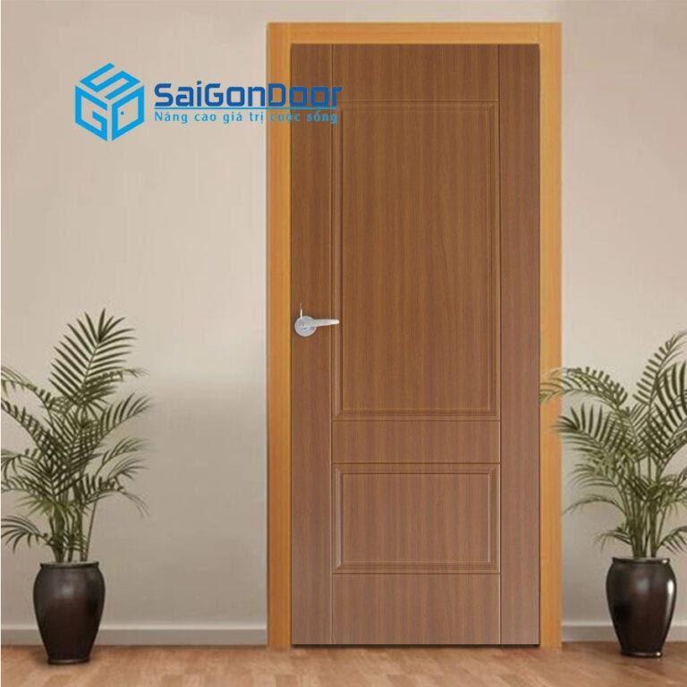 Cửa nhựa gỗ composite được ứng dụng rộng rãi