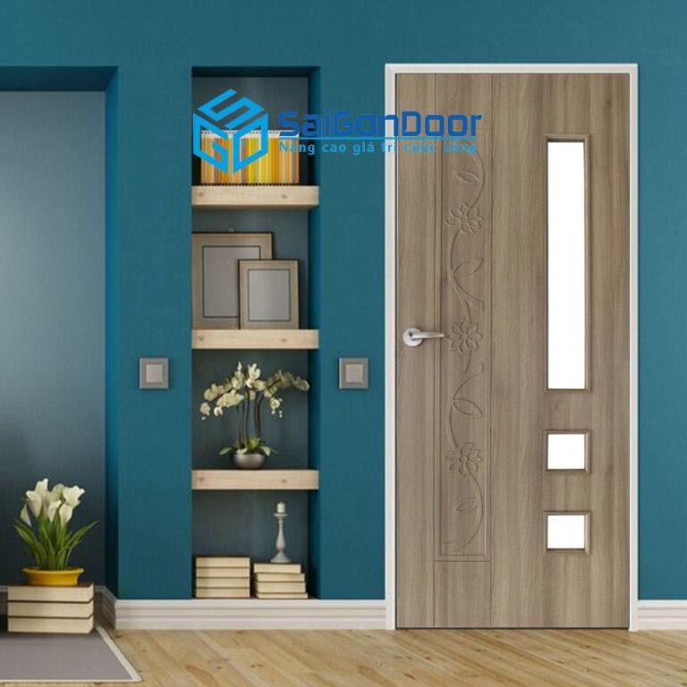 SaiGonDoor báo giá cửa nhựa gỗ composite rõ ràng, cụ thể
